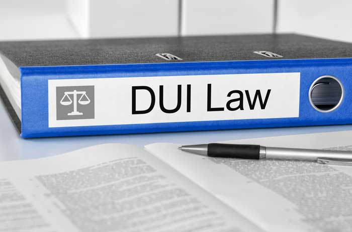 DUI Law binder