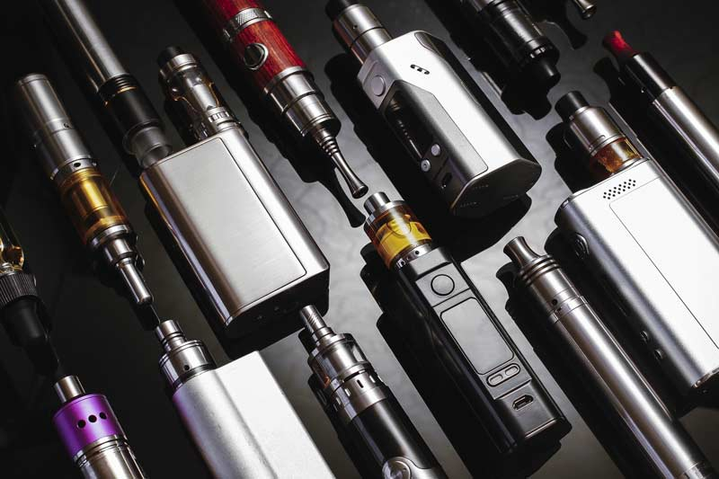 Multiple e-cig products