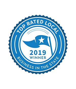 2019 Winner Top rated business in the state