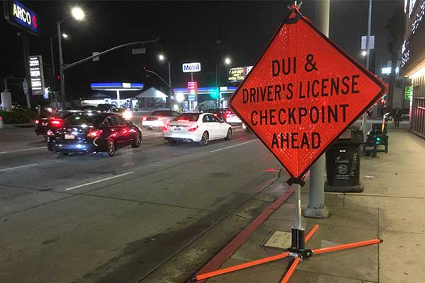 4th of July DUI Checkpoint